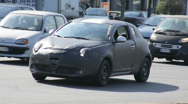 Alfa Romeo Junior caught testing