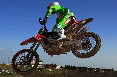Aprilia misses the podium at the 4th round of the Italian motocross championship