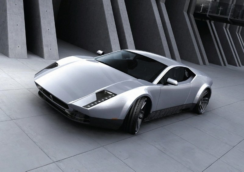 De Tomaso Panthera coming back; and being based on Gallardo