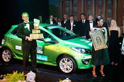 Mazda2 is South Africa's Motoring Journalists Car of the Year