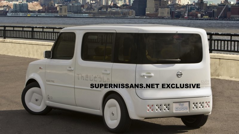 Nissan Denki Cube Concept to debut in NY