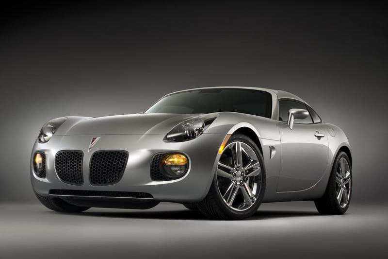 No V6 for the Pontiac Solstice Coupe