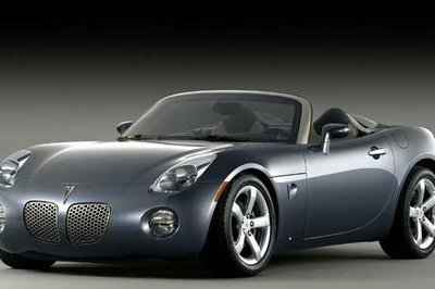 Pontiac Solstice Targa to be unveiled at New York Auto Show