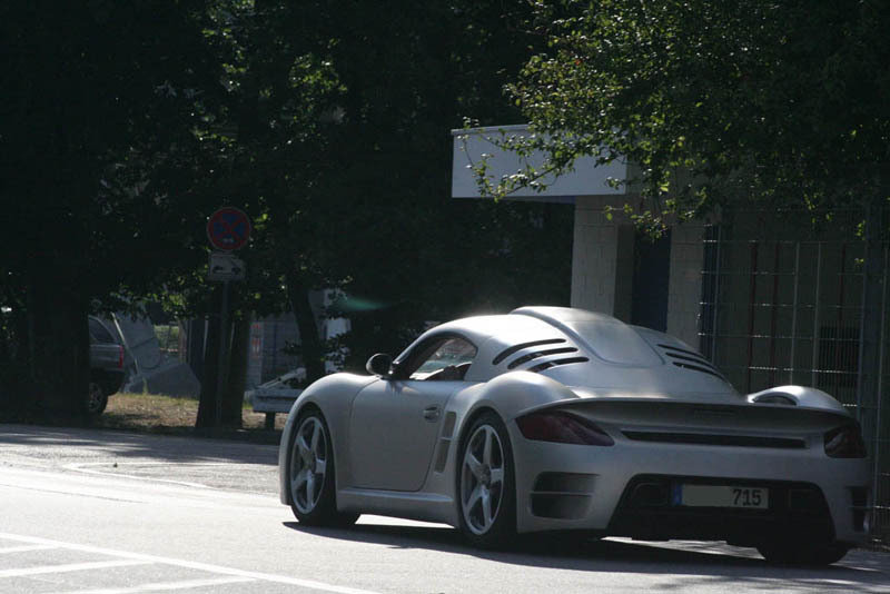 Ruf CTR3 caught in the wild
