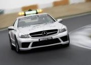 SL 63 AMG and C 63 AMG Estate Safety Car