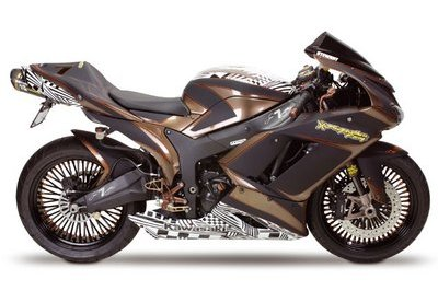"The Kawasaki ZX-6R James ""Bubba"" Stewart"
