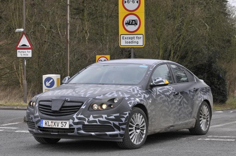 Vauxhall release 'official Spy Shots' of the Insignia and explain how and why they camouflage test cars