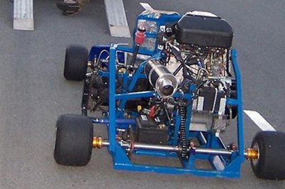 Videos Starring a Hayabusa engine fitted on a go cart!