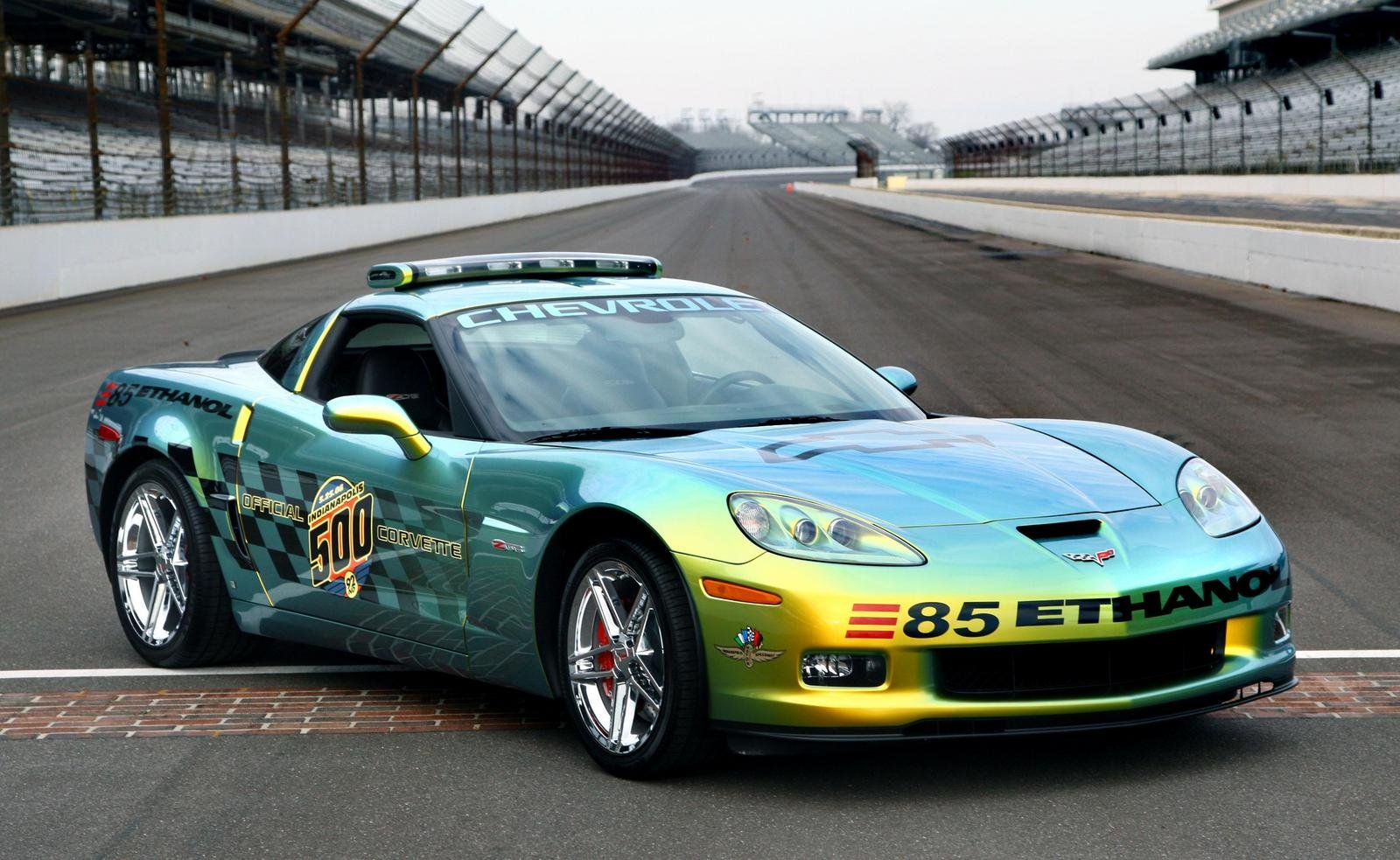 2008 Corvette Z06 Ethanol E85 Indy 500 Pacecar Gallery