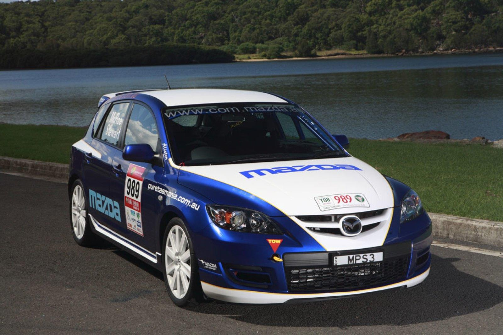 2008 Mazda3 MPS Rally Car Review - Top Speed