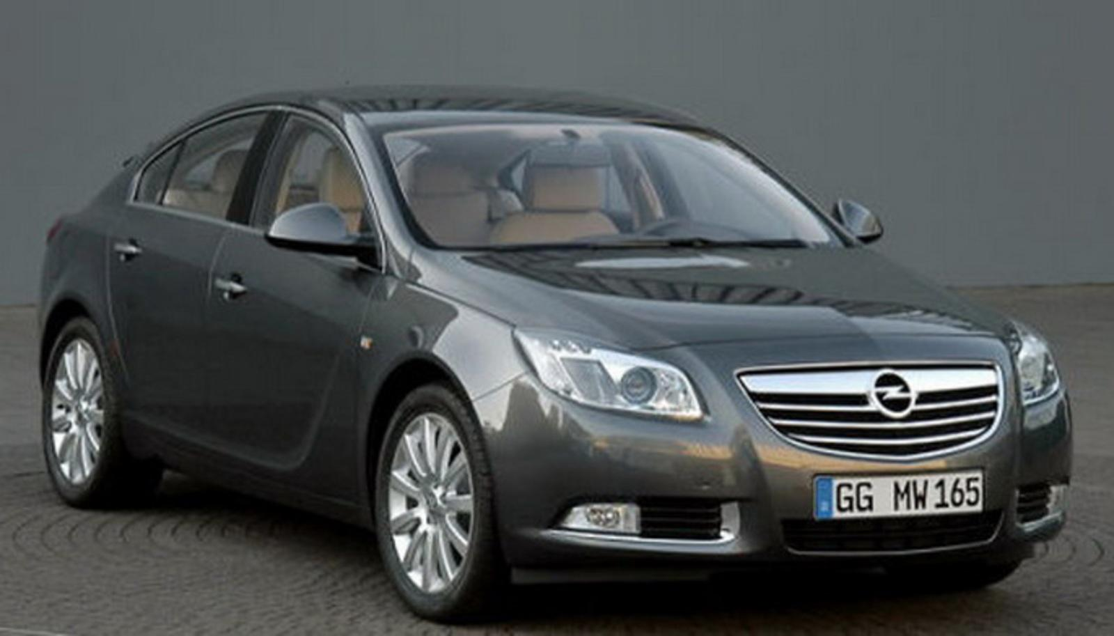 2009 opel insignia even more details news top speed. Black Bedroom Furniture Sets. Home Design Ideas
