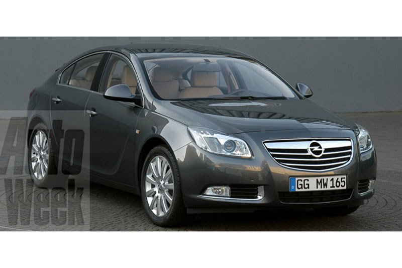 2009 Opel Insignia first official images