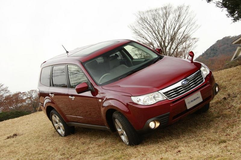 2009 Subaru Forester earns 2008 Top Safety Pick Award