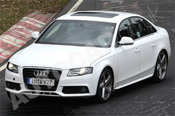 2010 audi s4 spy shots picture