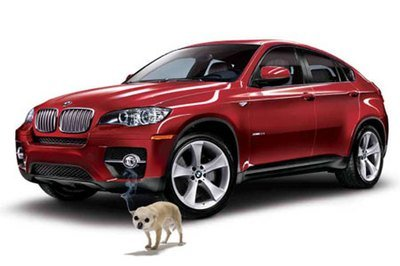 April Fool's Day: BMW's Canine Repellent Alloy Protection