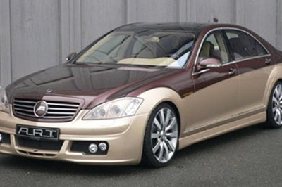 ART Tuning unveild two-tone Mercedes S-Class