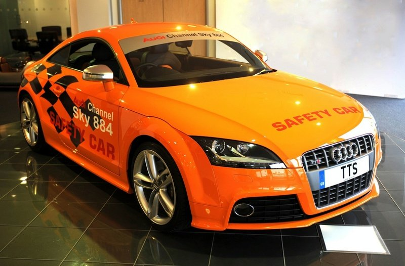 Audi TT-S - official Car on the Isle of Man