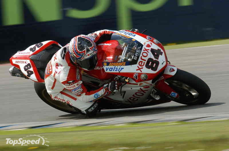 Bayliss (Ducati Xerox Team) takes provisional pole at Assen TT circuit