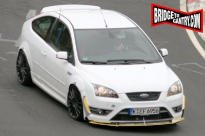 Ford Focus RS spy shots