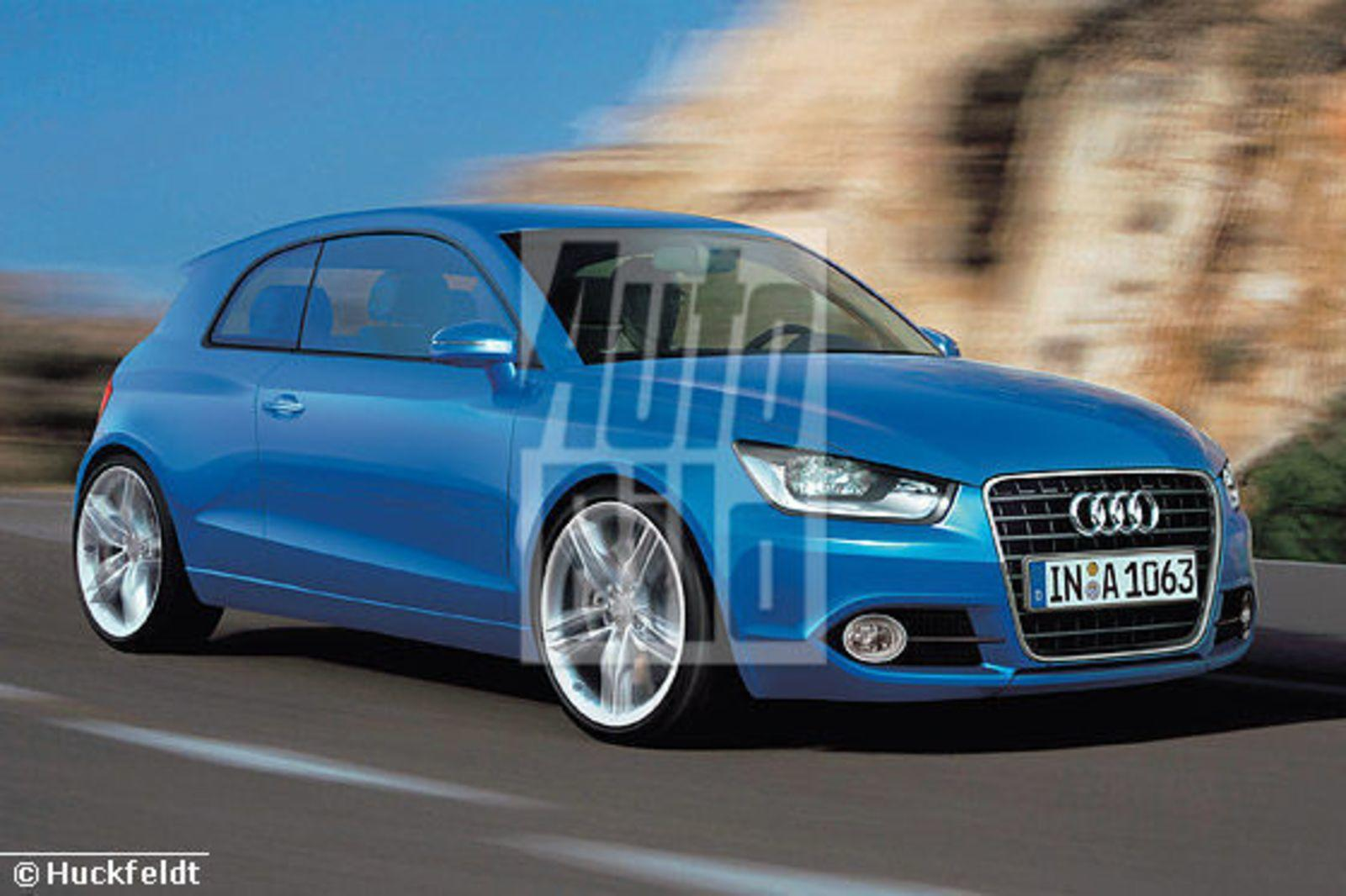 future audi a1 close to being official news top speed. Black Bedroom Furniture Sets. Home Design Ideas