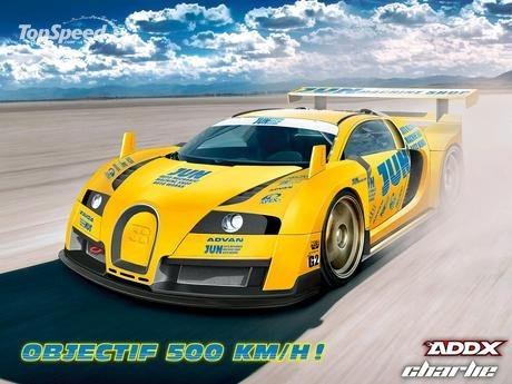Bugatti Veyron Top Speed