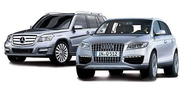 mercedes glk and audi q5 to debut in beijing picture