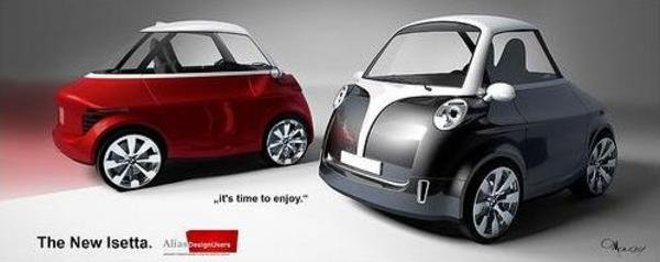 new bmw isetta renderings picture