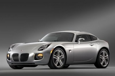 Pontiac Solstice GXP Coupe to produce 300 hp