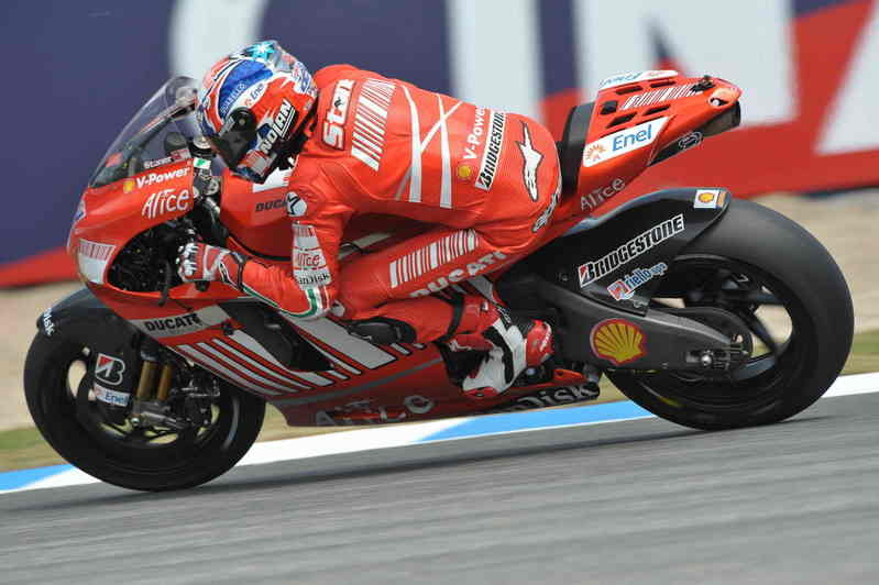 Positive tests for Stoner and Melandri at Jerez