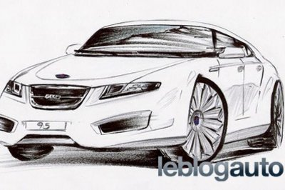 Redesigned Saab 9-5 to be unveiled at Paris Motor Show