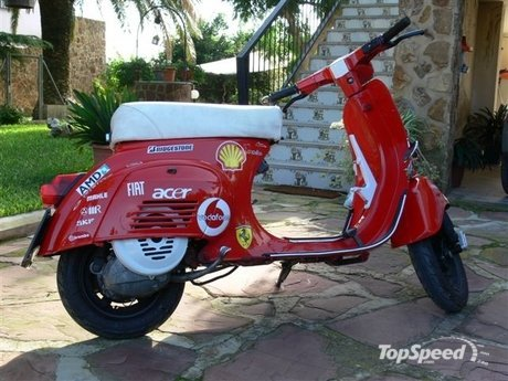 The Best Scooters: vespa racing