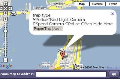 Trapster alerts you for speed trap on your mobile!