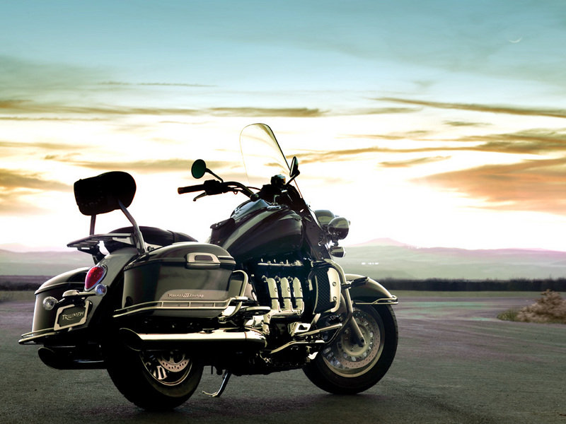Triumph Rocket III Touring available at dealers now