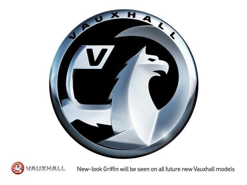 Vauxhall revealed new logo