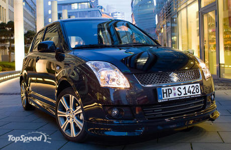 2008 Suzuki Swift Black A 460X0w