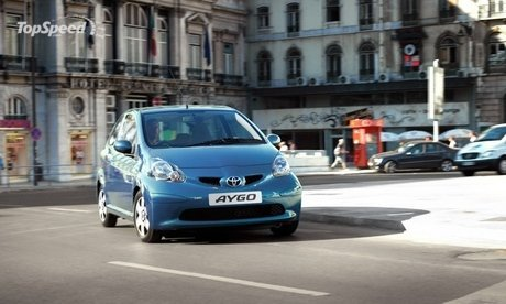 There's blue, then there is Aygo Blue. This spring Toyota's award-winning