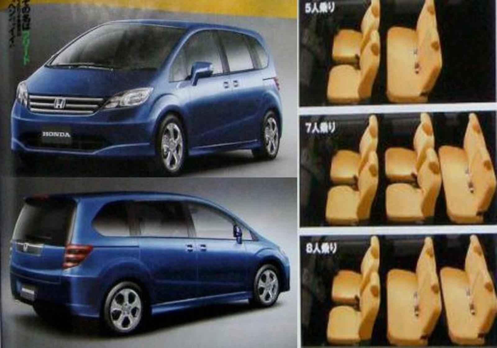 Cars With 3 Rows Of Seats >> 2009 Honda Freed To Be Released Next Week News - Top Speed