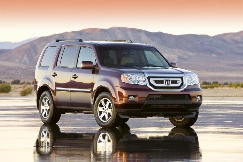 The all-new, completely-redesigned 2009 Honda Pilot is set to debut at