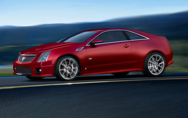 2010 cadillac cts v coupe renderings news top speed. Black Bedroom Furniture Sets. Home Design Ideas