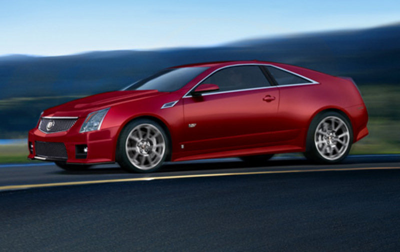 2010 Cadillac Cts V Coupe Renderings Picture Top Speed