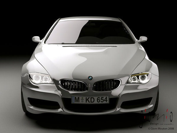 2012 bmw m6 renderings picture