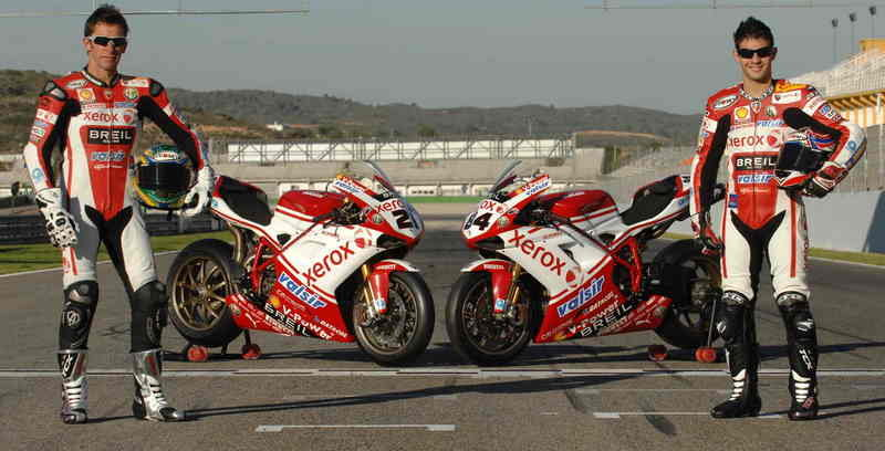 "A trip to Monza for the first of three ""home"" races for the Ducati Xerox Team"