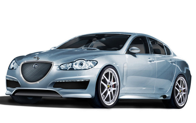Arden AJ 21 based on the Jaguar XF