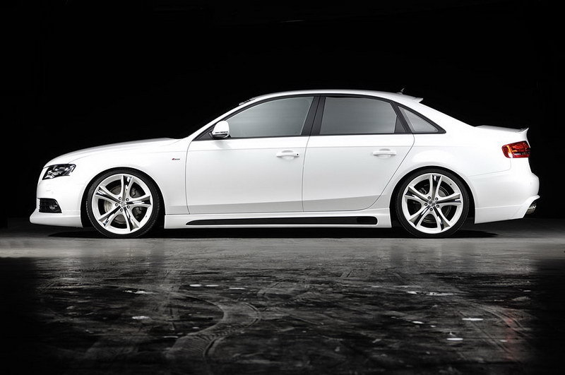 Audi A4 3.0 TDI by Rieger Tuning wallpaper image