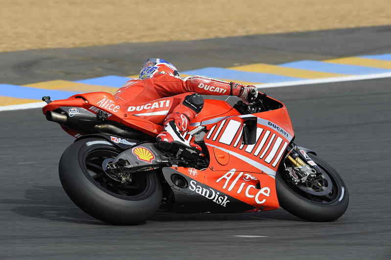 Ducati MotoGP team conclude test session in France