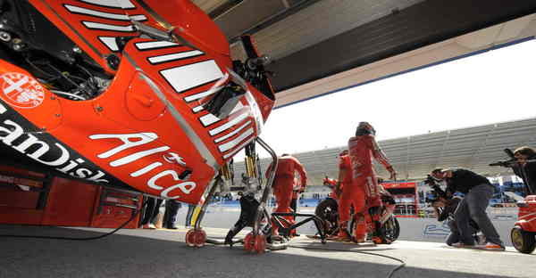 ducati motogp team prepare for home race at mugello picture