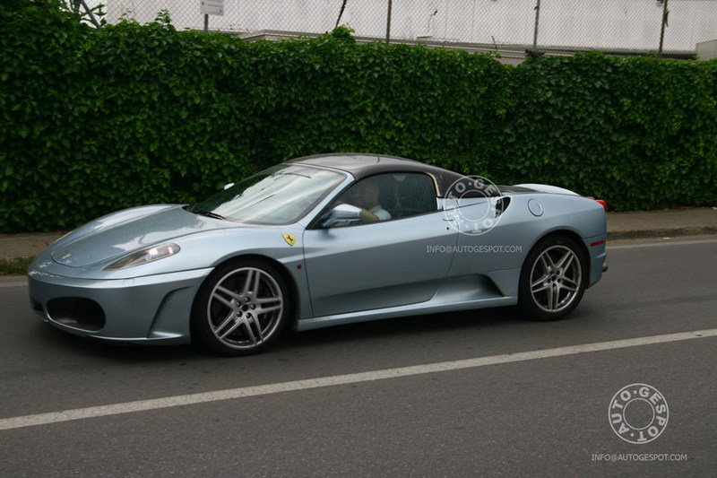 Ferrari F430 with hardtop spotted