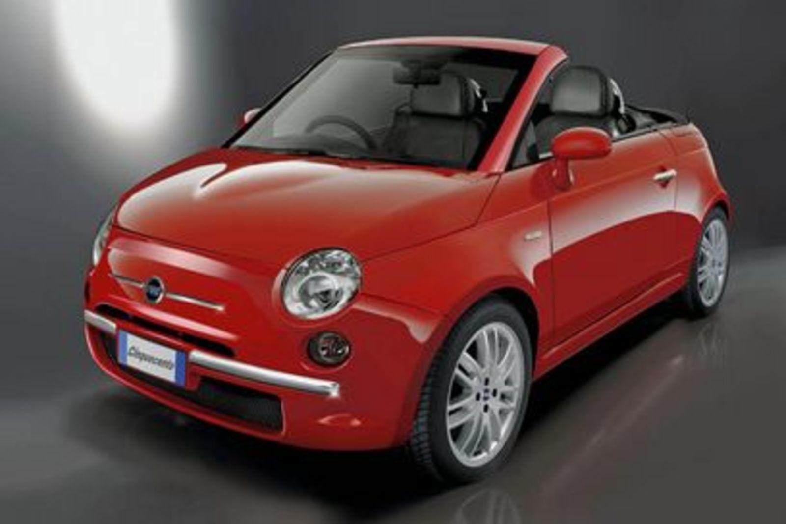 fiat 500 cabrio renderings news top speed. Black Bedroom Furniture Sets. Home Design Ideas