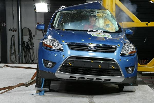 five euro ncap stars for the new ford kuga picture