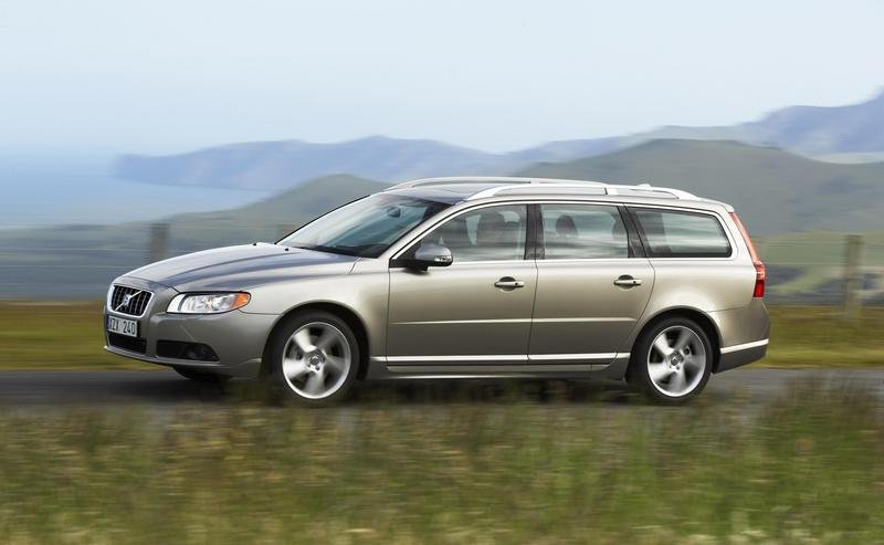 Flexifuel engine for Volvo V70 and S80